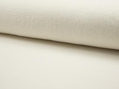 05m Baumwollfleece Sheepskin weich ecru natur
