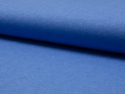 05m Jersey uni meliert kobalt blau
