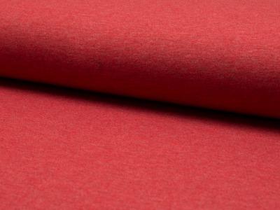 05m Jersey uni meliert rot 015