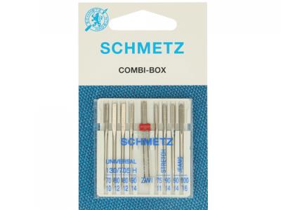 1Pck Combi-Box Nadeln für die Nähmaschine