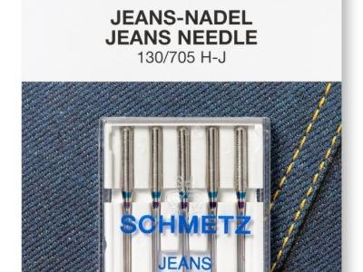 1Pck Jeans-Nadeln für die Nähmaschine von