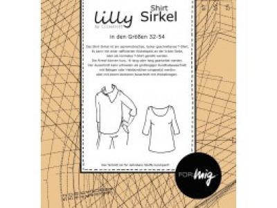 1Stk Sirkel Shirt Papier Schnittmuster by