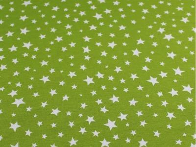 05m Jersey Sterne verschiedene Größen hellgrün