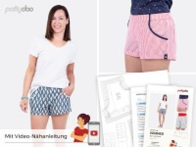1Stk Summer Shorts Papier Schnittmuster by
