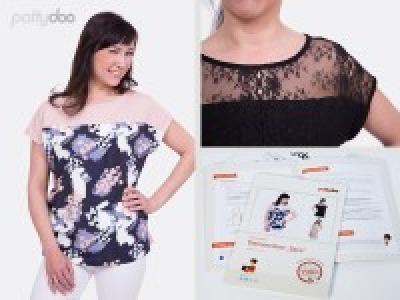 1Stk Sara Damenshirt Papier Schnittmuster by