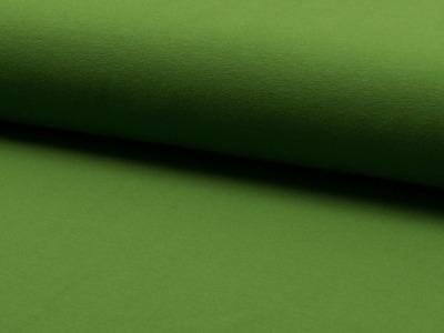 0,5m Baumwoll Jersey uni moos grün