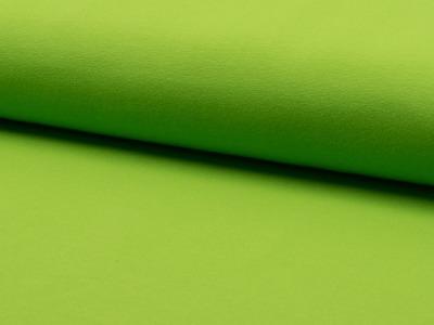 0,5m Baumwoll Jersey uni lime grün Apfel