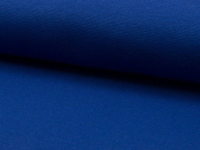 05m Bündchen blau Royalblau glatt