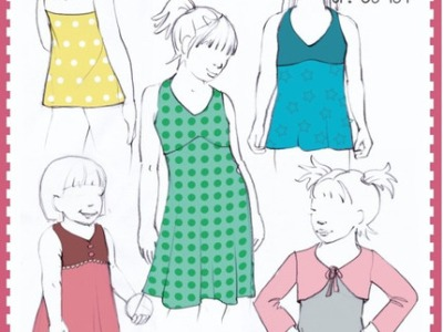 Schnitt La Playita Kleid Tunika Top