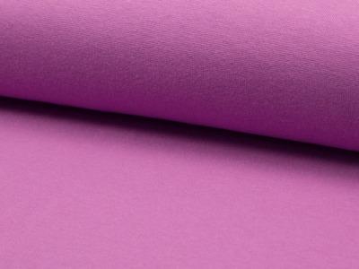 0,5m Bündchen glatt purple Lila