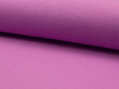 05m Bündchen glatt purple Lila