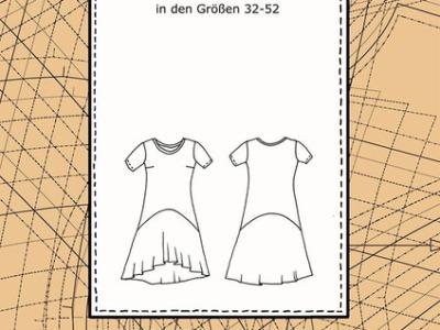 Papier Schnittmuster Kleid Suzan Susalabim