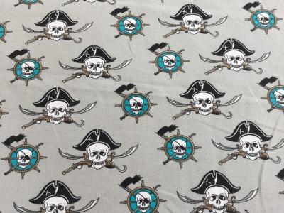 0 5m Sommersweat Piraten Seemann hellgrau