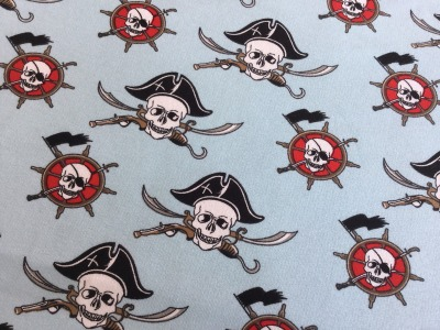 05m Sommersweat Piraten Seemann hellblau