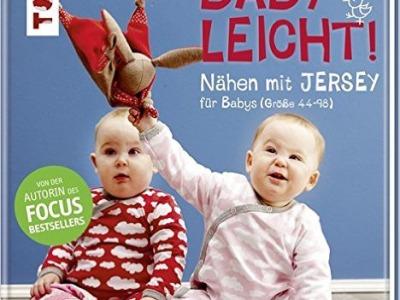 Buch Babyleicht nähen mit Jersey Klimperklein