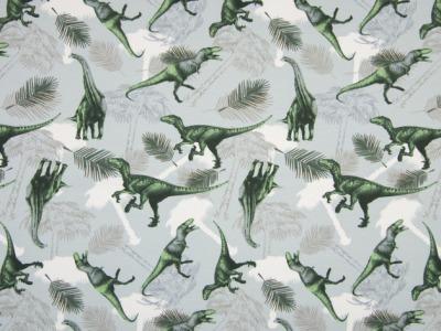0,5m Jersey Dinos Sauriere grau grün cool