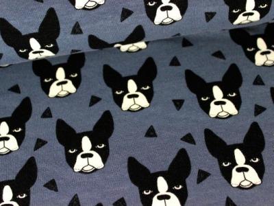 05m Sweat Bosten Terrier blaugrau jeans