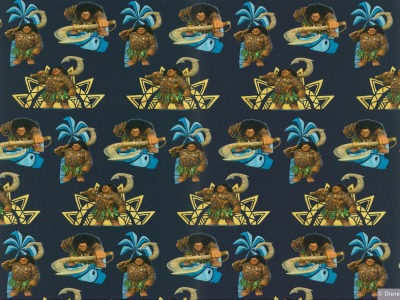 0,5m Jersey Maui Pua Vaiana dunkel blau navy