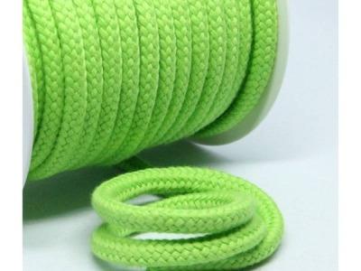 1m Baumwollkordel 10mm dick lime grün