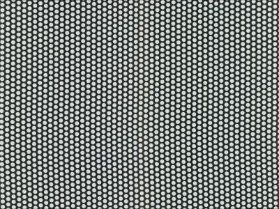 05m beschichtete Baumwolle Fresh Dots schwarz