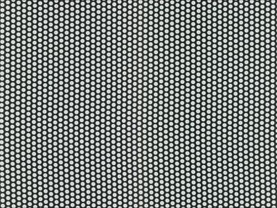 0 5m beschichtete Baumwolle Fresh Dots schwarz wei