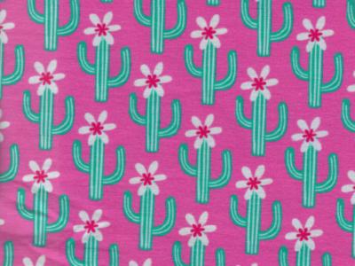 0 5m Sweat Cactus Blossom pink gruen Kaktus