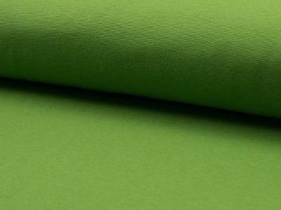 0,5m Bündchen moos dunkel lime grün