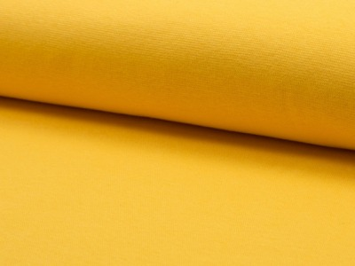 0,5m Bündchen glatt gelb Mais Sonnengelb