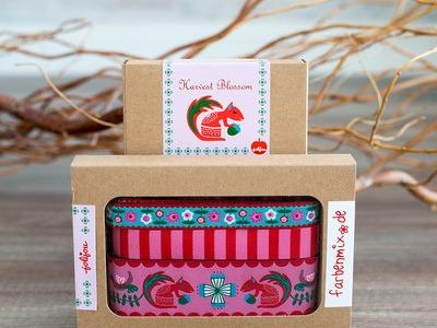 Webband Set Harvest Blossom rot pink