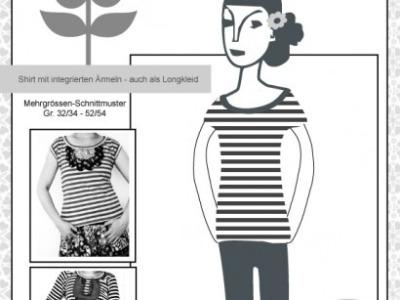 Schnitt Joana Jolijou Shirt Kleid Top Jersey