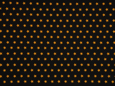05m Jersey Sterne schwarz ocker gelb