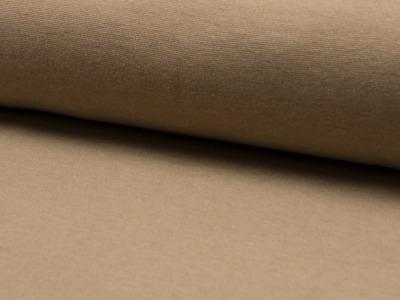 05m Bündchen glatt meliert beige hellbraun