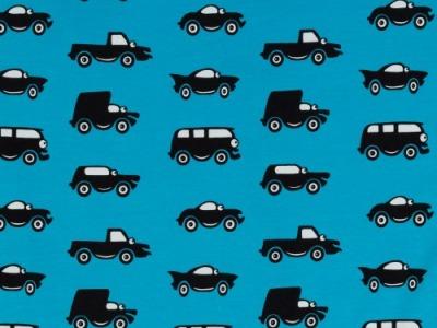 0,5m Jersey Fahrzeuge Autos türkis Vincent
