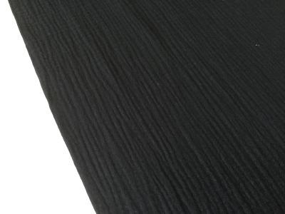0,5m Musseline Double Gauze schwarz
