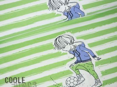 Rapport Jersey Coole Jungs Fußballer Grün