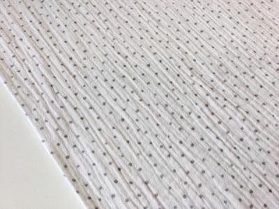 05m Musselin Double Gauze weiß grau