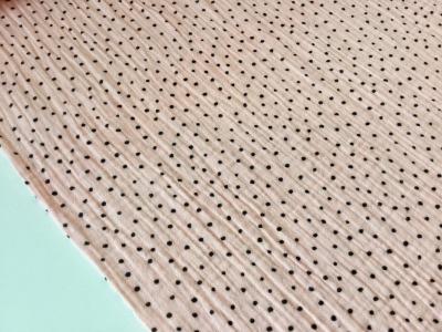 0 5m Musselin Double Gauze rose grau Dots