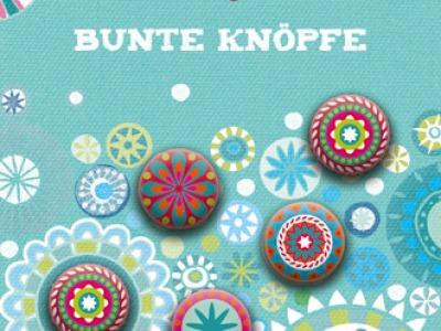 Bine Braendle Bunte Knoepfe Happy Ethno 8 Knoepfe