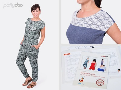 Schnittmuster Joy Jumpsuit by pattydoo