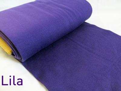 0,5m Bündchen Bibi lila purple 510