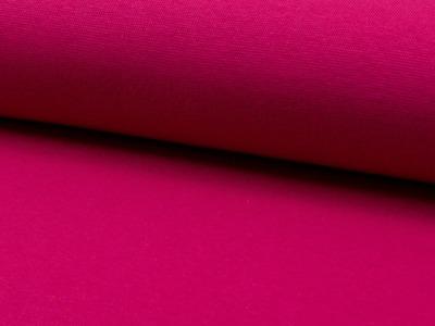 0,5m Bündchen fuchsia dunkel pink glatt