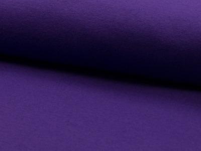 05m Bündchen glatt lila purple 047