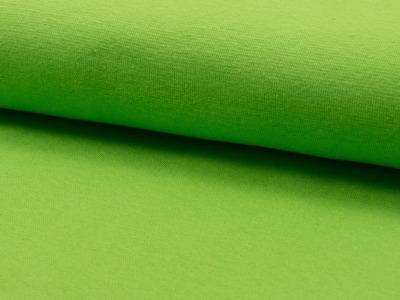 0,5m Bündchen lime grün hellgrün glatt