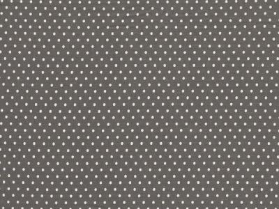0,5m Jersey Jerseydots Mini Punkte grau weiß