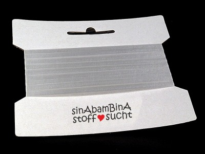 20m Framilon elastische Gummi Litze 6mm breit