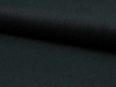 0,5m Jeans Jersey schwarz black Denim