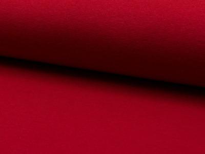 05m Bündchen rot red ruby glatt