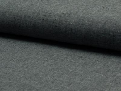 0,5 m Blusen Jeans Baumwolle Chambrai schwarz
