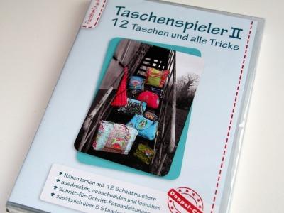 Taschenspieler CD 2 Nähanleitung Taschen Farbenmix