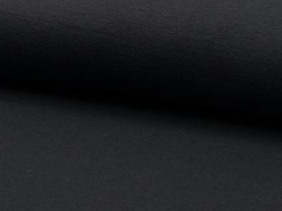 05m Bündchen glatt dunkelgrau anthrazit grey